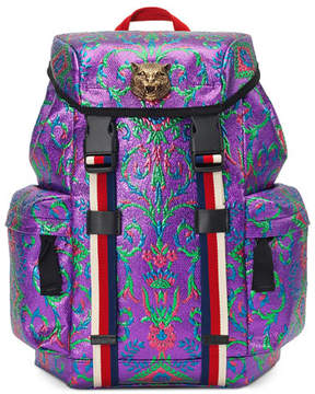 Gucci Techpack Brocade Backpack, Multi - MULTI PATTERN - STYLE