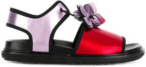Marni Floral Fussbet sandals