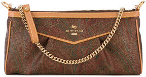 Etro embroidered clutch bag