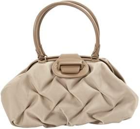 Smythson Beige Cloth Handbag