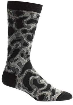 Ozone Men's Water Caustics Sock (2 Pairs)