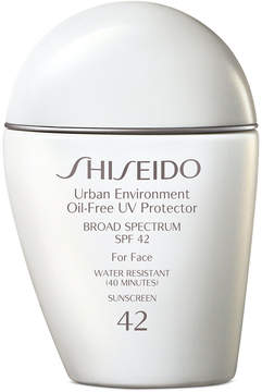 Shiseido Urban Environment Oil-Free Uv Protector Spf 42, 1 oz