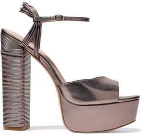 Rachel Zoe Willow Metallic Leather Platform Sandals