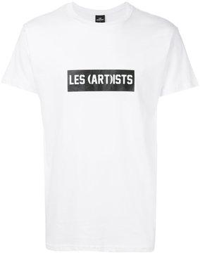 Les (Art)ists logo patch T-shirt
