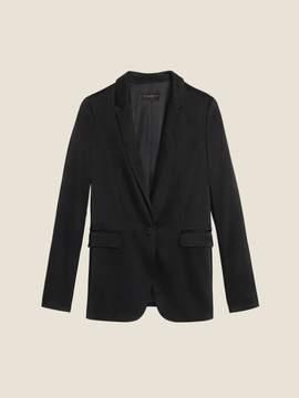 Donna Karan Donnakaran Satin One-Button Blazer