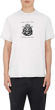 Ovadia & Sons Men's Steven Harrington Laughing-Face Cotton T-Shirt
