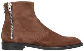 Givenchy Suede Dark Brown Boots