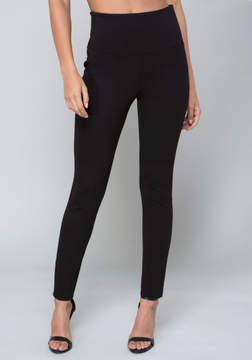 Bebe High Waist Zip Leggings