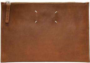 Maison Margiela Tan Leather Pouch