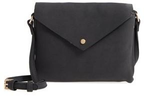 Street Level Envelope Crossbody Bag - Black
