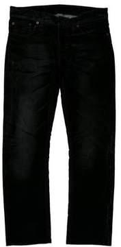 Balenciaga 2016 Cropped Velvet Jeans