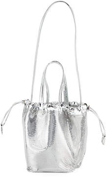 Paco Rabanne Sequined Medium Pouch Bucket Bag