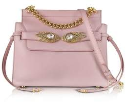Roberto Cavalli Women's Pink Leather Shoulder Bag