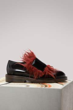 Marni Leather moccasins