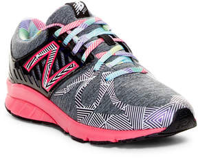 New Balance Electric Rainbow Sneaker - Wide Width Available (Little Kid & Big Kid)