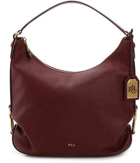 Lauren Ralph Lauren Women's Dawson Hadley Leather Hobo Bag
