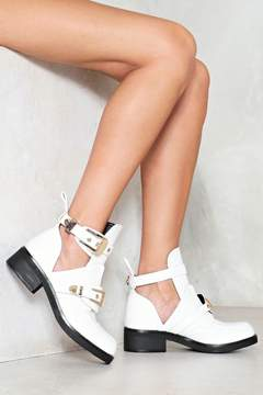 Nasty Gal nastygal Electric Love Cut-Out Boot