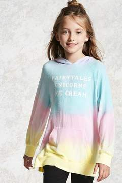 Forever 21 Girls Ombre Hoodie (Kids)