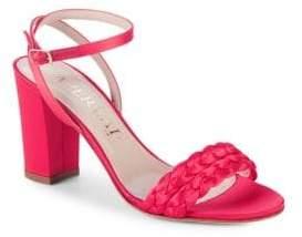 Aperlaï Braided Heel Sandals