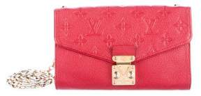 Louis Vuitton Monogram Empreinte Pochette Saint-Germain - RED - STYLE