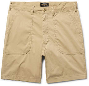 Beams Baker Slim-Fit Canvas Shorts