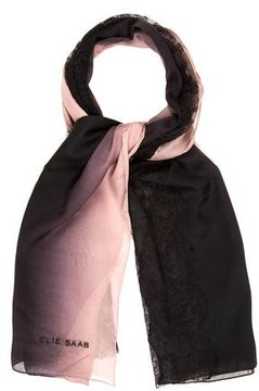 Elie Saab Lace-Accented Silk Scarf