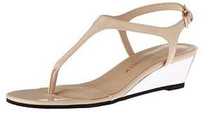 Athena Alexander Womens Lunna Open Toe Casual Platform Sandals.