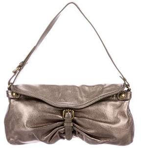 Kooba Metallic Leather Shoulder Bag