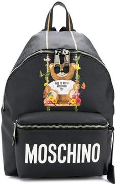 Moschino big Teddy backpack