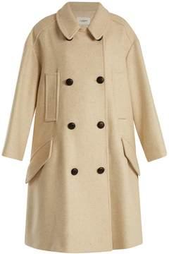 Etoile Isabel Marant Flicka double-breasted wool-blend coat
