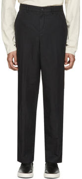 Our Legacy Black Linen 22 Chinos