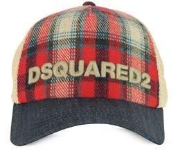 DSQUARED2 Women's Red Wool Hat.