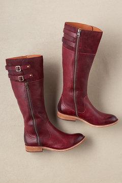Kork-Ease Ease Levin Boots - Burgundy