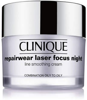 Clinique Repairwear Laser Focus Night Line Smoothing Cream - Combination Oily to Oily, 1.7 oz.