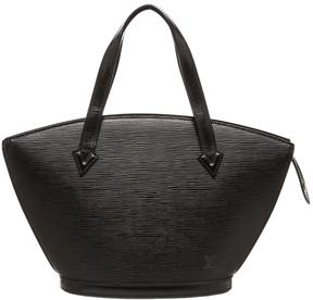 Louis Vuitton St Jacques leather satchel - BLACK - STYLE