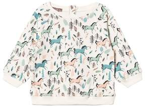 Emile et Ida Unicorn Print Sweater