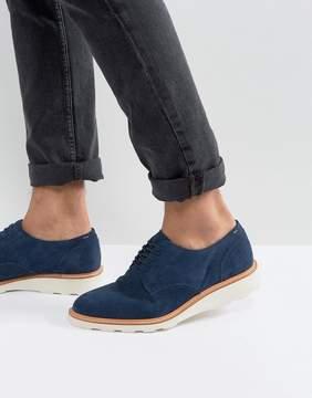 Aldo Muggli Suede Derby Shoes