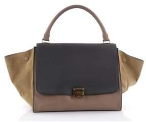 Celine Pre-owned: Trapeze Handbag Leather Medium.