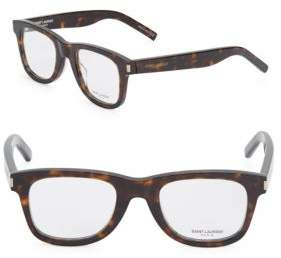 Saint Laurent 48MM, Oval Optical Glasses