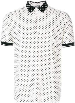 Dolce & Gabbana polka dotted polo shirt