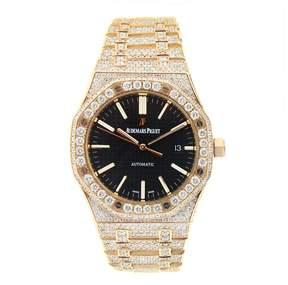Audemars Piguet Royal Oak Pink Gold with Diamonds