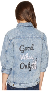 Brigitte Bailey Galiot Denim Jacket Women's Coat