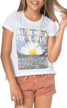 O'Neill Girl's Summer Of Love Graphic Tee
