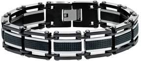 Triton Axl By AXL by Men's Two Tone Stainless Steel Bracelet