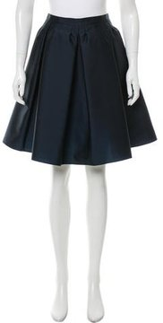 RED Valentino Pleated Knee-Length Skirt w/ Tags