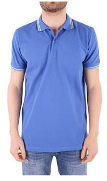 Peuterey Men's Blue Cotton Polo Shirt.