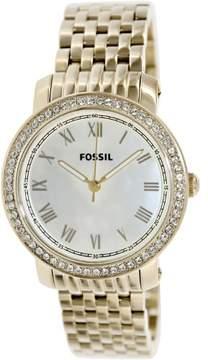 Fossil Women's Emma ES3113 Gold Stainless-Steel Quartz Watch