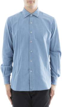 Orian Light Blue Cotton Shirt