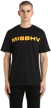 Misbhv Cotton Jersey T-Shirt
