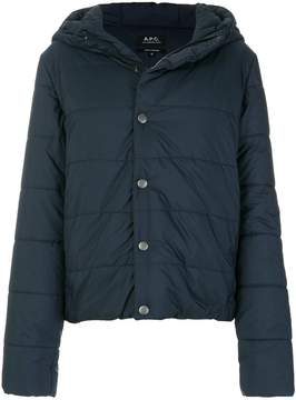 A.P.C. classic padded jacket